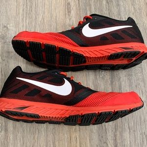 Men's Red and Black Nike Sneakers